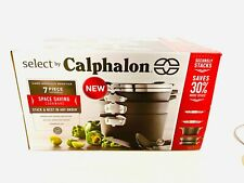 Calphalon Select Space Saving Hard Anodized Nonstick Starter Pan Set Cookware 7