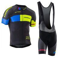 Ropa ciclismo manga corta Orbea maillot culot cycling jersey maglie short