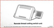 Remote Thread Cutter Pedal - Switch Foot Cutting Control MC Janome Elna 8900 QCP