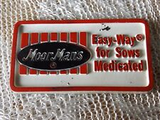 MOORMANS EASY-WAY FOR SOWS VINTAGE MAGNET * AGRICULTURE FARM FEED COMPANY *