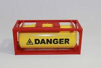 1x  Container  Tankcontainer DANGER  stapelbar    1:50  NEU  3922