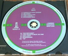 U2 WAR target CD Made in West Germany W. German hard-to-find PDO version