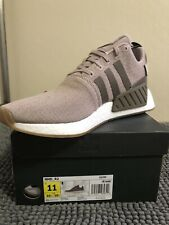 Adidas Originals Men's NMD_R2 Size 11 Vapor Grey/Taupe Running shoe