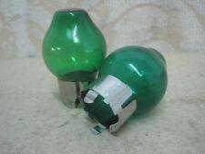 2 NEW GREEN H4 Halogen BULBS COVER PORSCHE BOSCH HELLA MARCHAL LUCAS