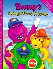 Barney's Neighborhood Friends Color and Activity Book Paperback 2000 Brand New