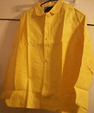"""River City Rain Wear Jacket WaterProof Yellow Size M Adult 400J 24"""" Wide 28.5""""L"""