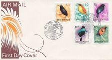 Papoea-Nieuw-Guinea / Papua New Guinea - FDC - Port Moresby - Birds - 1992