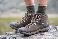 Mens Oboz Bridger Mid BDry Leather Walking Boots UK 13 Hiking Eu 48