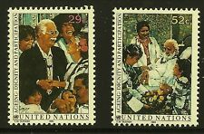United Nations Scott #NY 618-19, Singles 1993 Complete Set FVF MNH