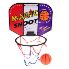 Bedroom Indoor Mini Basketball Toy Gift Set Includes Ball Pump Hoop, 30x23.5cm