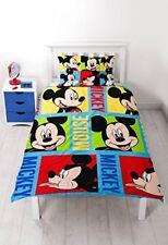 Disney Mickey Mouse Housse de couette Réversible et Imprimée en Polyester ...