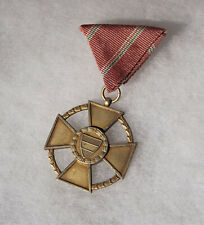 Hungarian Republic Post Ww2 Order of Merit 1946-49 Golden Merit Medal