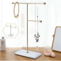 Necklace Stand Chain Holder Jewellery Earrings Accessory Table Display Rack Gift
