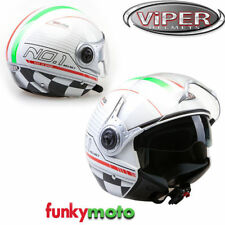 Cascos decorado talla XL de scooter para conductores