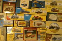 CORGI Boxes only, toy & model vehicles EMPTY+inserts+certificates,pick from list