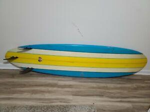 Vintage Surfboard Bennett Dion Australia (Long Board)