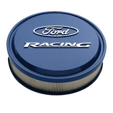 Proform Air Cleaner Assembly 302-381; Ford Racing Blue Aluminum Round 13 x 3""