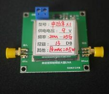 20MHz-1500MHZ 0.5W 13DB FM VHF FM Transmitter broadband RF power Amplifier