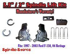 """1997 - 2003 Ford F-150 F150 2WD 5.5"""" / 3""""  Spindles blocks LIFT KIT"""