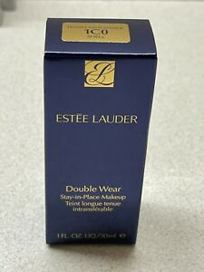 Full Size Estee Lauder Double Wear Stay-in-Place Makeup Shade- 1C0 Shell