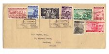 More details for poland 1944 cover used with 1943 london exile set of 8
