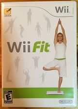 Wii Fit (no equipment, just the video game)