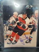 Dainius Zubrus flyers HOCKEY AUTOGRAPH SIGNED PHOTO FILE PRINT NHL  FRAMEABLE