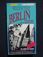 Berlin, Symphony of a Great City [VHS] [VHS Tape] [1928]