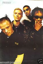 """PRODIGY """"BAND STANDING TOGETHER"""" POSTER FROM ASIA-U.K. Electronic Big Beat Music"""