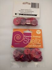 2 Packs of Mixed Shell Buttons