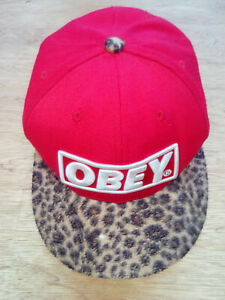 casquette snapback Obey homme