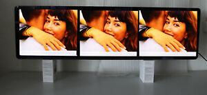 LCD Werbedisplay / Werbemonitor / Stretched Display / 1220 x 350 mm