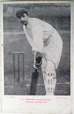 Len Braund Angleterre en Australie 1903 Cricket CARTE POSTALE