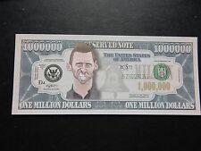 Hugh Jackman Wolverine $1 MILLION DOLLAR NOTE Novelty Bill $1,000,000 XMen Logan