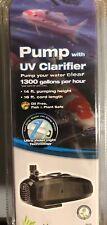 Pond Boss Pw1300Uv 1300 Gph Pump with Uv Clarifier