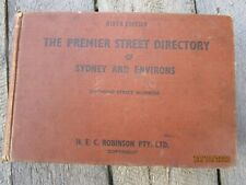 THE PREMIER STREET DIRECTORY OF SYDNEY AND ENVIRONS
