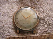 Vintage Elgin Self-Winding Shockmaster 645 17 Jewels
