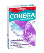 Corega Tabs Denture Care Cleaning Removes Plaque Stubborn Stains Fresh 30 pcs