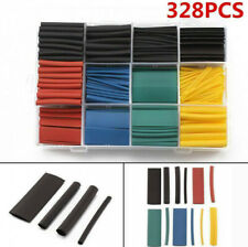 328 Pcs Cable Heat Shrink Tubing Sleeve Wire Wrap Tube 21 Assortment Kits Tools