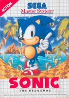 SEGA Master System Spiel - Sonic the Hedgehog Modul mit Anl.