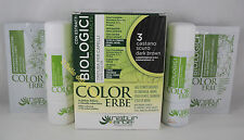 Naturerbe COLOR ERBE bio Tinta TINTURA capelli 60ml biologica 3 CASTANO SCURO