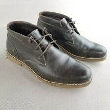 Calvin Klein M Pierce Brown Ankle Boots Mens Size 9.5