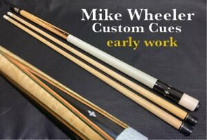 Mike Wheeler Custom Cues early work excellent condition