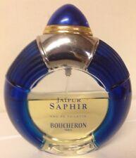 Boucheron Jaipur SAPHIR Eau De Toilette 3.4oz 100ml  SPRAY Made in France Used