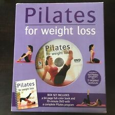 PILATES FOR WEIGHT LOSS BOOK AND DVD SET By Elise Watts **BRAND NEW**