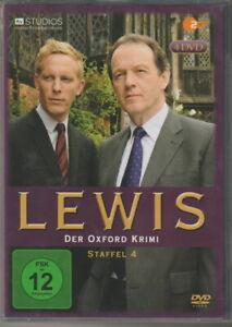 LEWIS - Der Oxford Krimi - Staffel 4 - herrliche 4er DVD Box