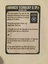 Star Trek Attack Wing Temporal Cold War Reference Card Advanced Technology