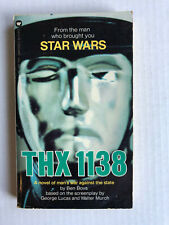THX 1138 by Ben Bova George Lucas Walter Murch autographed copy