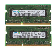 Memory Samsung 4GB 2x 2GB 1Rx8 PC3 10600 DDR3 1333 Mhz 204 Pin Laptop RAM SODIMM