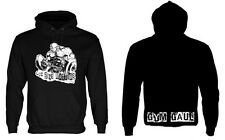 "Gym Gaul 'Coz Size Matters' Hoody (XL 47"" Chest) Bodybuilding (Down From £19.99)"